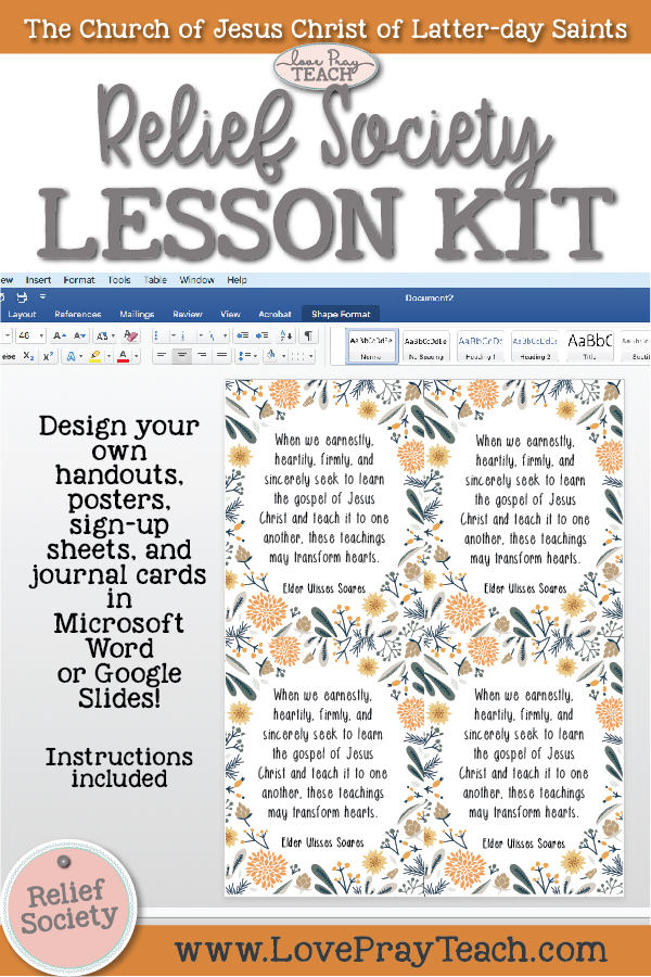 feeling-fall-relief-society-blank-lesson-kit