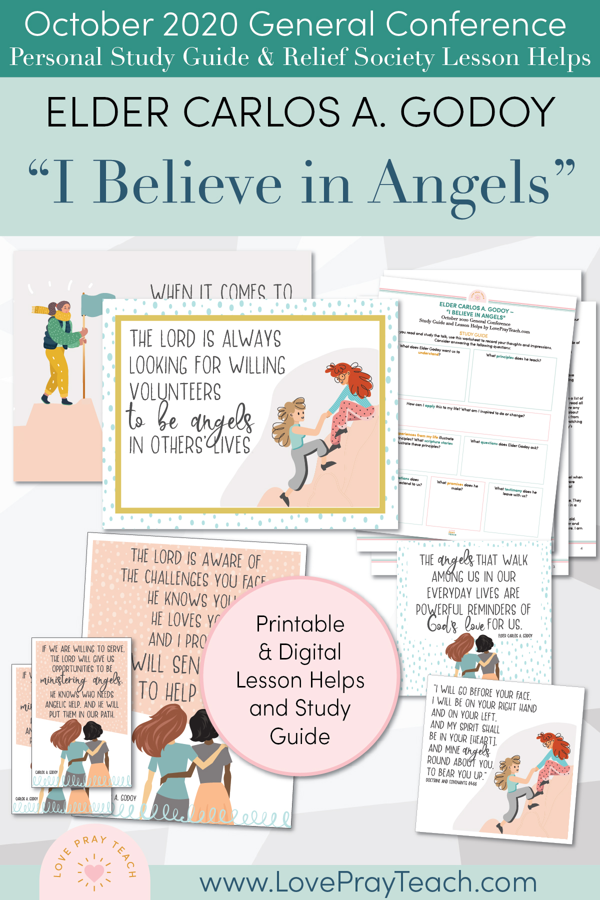 "October 2020 General Conference ""I Believe in Angels"" by Elder Carlos A. Godoy 